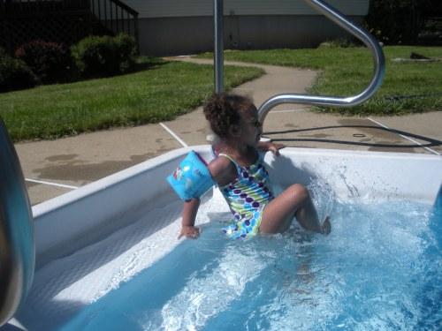 Giana Karen of Caln Township Loving The Water
